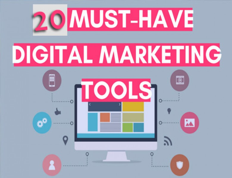 List of Top 20  Digital Marketing Tools to Gain Popularity 2019